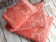 pandora coral (коралл) полотенце банное