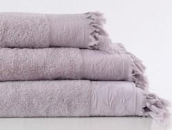 infinity violet (фиолетовый) полотенце банное