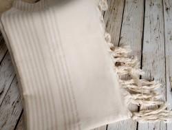 nature krem (кремовый) полотенце пляжное
