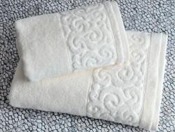 tiffany vanilla (кремовый) полотенце банное
