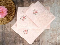 loya pink (розовый) полотенце банное