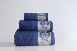 полотенце с печатью craft lacivert (синий)