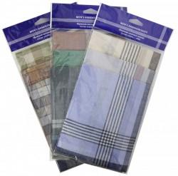 45400(3) набор мужских носовых платков (3шт)