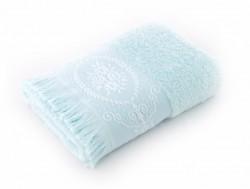 blenda aqua (голубой) полотенце банное