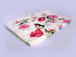 полотенце махровое хлопковое (розовый)