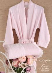 халат sense pembe (розовый)
