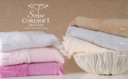 sense bej (бежевый) полотенце банное