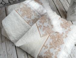 pandora ecru (молочный) полотенце банное
