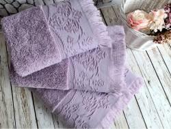 feronia mudrum (фиолетовый) полотенце банное