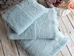 feronia aqua (голубой) полотенце банное