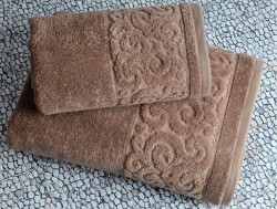 tiffany tiramisu (коричневый) полотенце банное