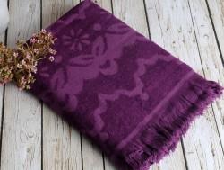 daisy mor (фиолетовый) полотенце пляжное