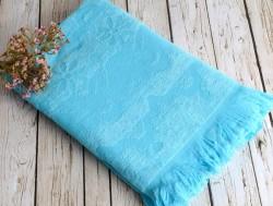 daisy turkuaz (голубой) полотенце пляжное