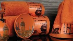 полотенце с печатью istanbul oranj (оранжевый)