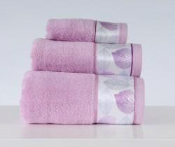 полотенце с печатью lamina lila (сиреневый)
