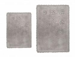 blossoms bej (бежевый) коврик для ванной