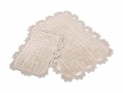 mina bej (бежевый) коврик для ванной