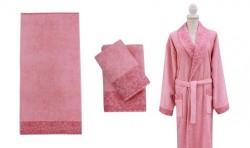 полотенце банное profondo l.pink (светло-розовый)