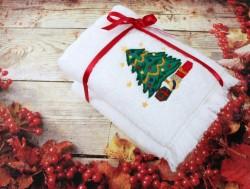 новогодний набор полотенец ёлочка