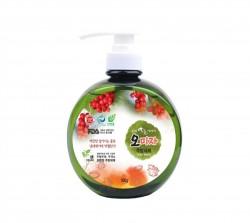 жидкость для мытья посуды с лимонником китайским 0,5л (kdb-500sr)