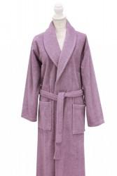 халат c вышивкой роза lilac (сиреневый)