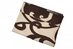 одеяло шерстяное жаккард арт.1 85%шерсть, 15%пе