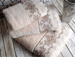 pandora bej (бежевый) полотенце банное