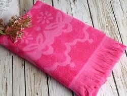 daisy fuchsia (фуксия) полотенце пляжное